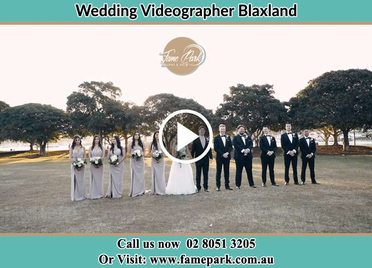 Bride and Groom with the secondary sponsors Blaxland NSW 2774