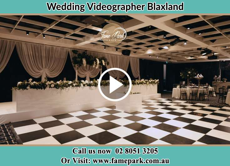 The reception Blaxland NSW 2774