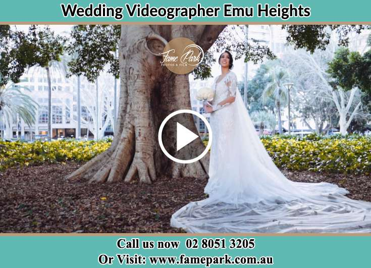 Bride under the tree Emu Heights NSW 2750