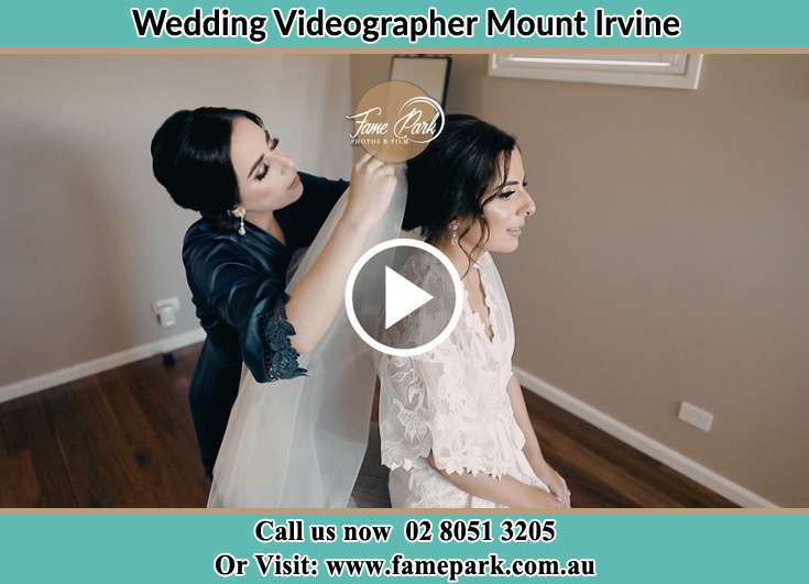 Bride getting ready Mount Irvine NSW 2786