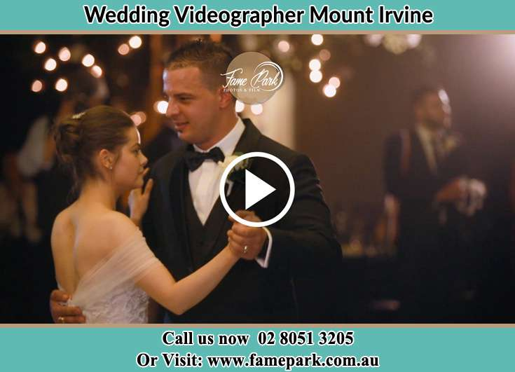 Bride and Groom at the dance floor Mount Irvine NSW 2786