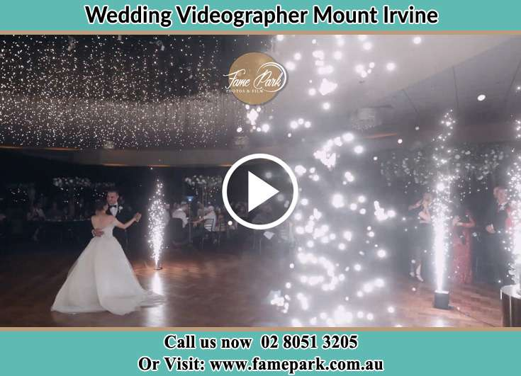 Bride and Groom dance at the dance floor Mount Irvine NSW 2786