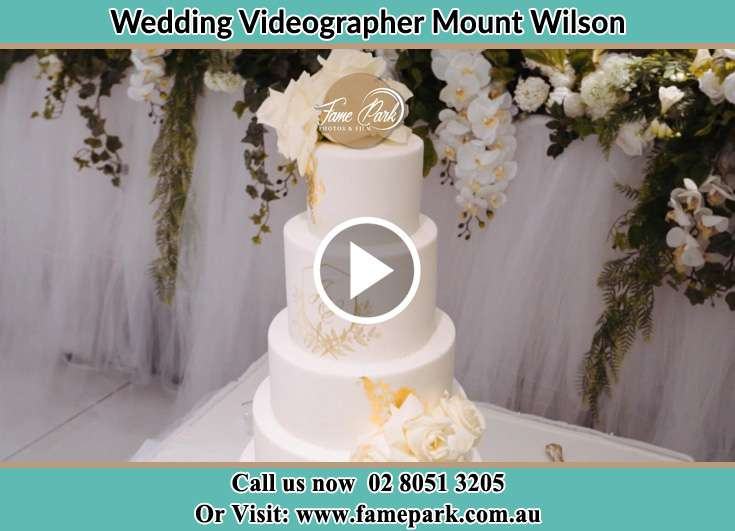 Bride and Groom wedding cake Mount Wilson NSW 2786