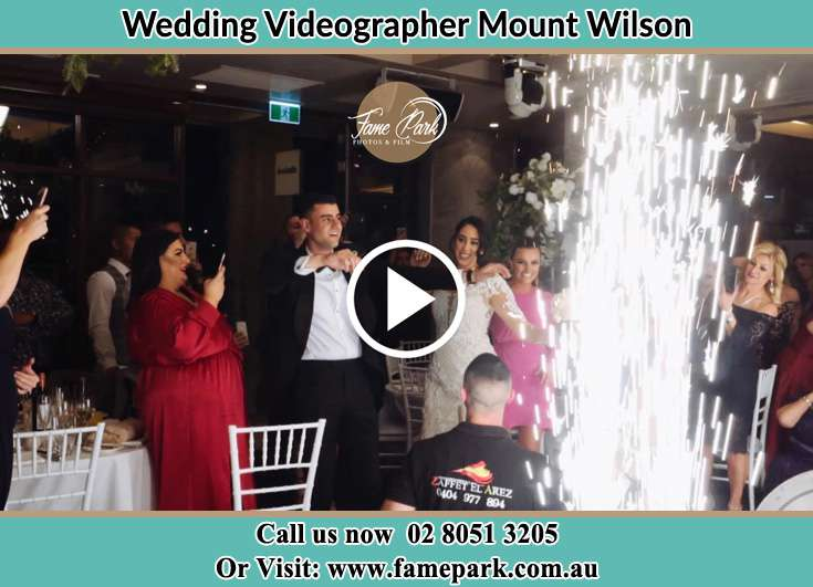 Bride and Groom dance at the reception Mount Wilson NSW 2786