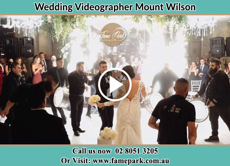 Bride and Groom at the dance floor Mount Wilson NSW 2786