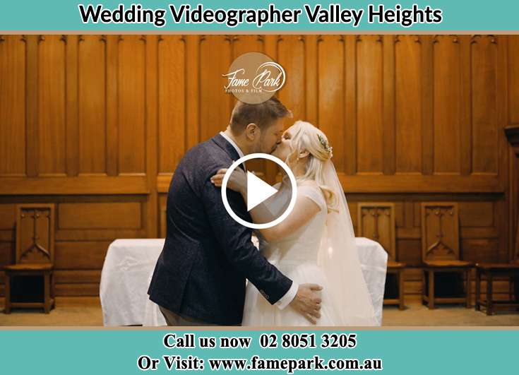 The new couple kissing Valley Heights NSW 2777