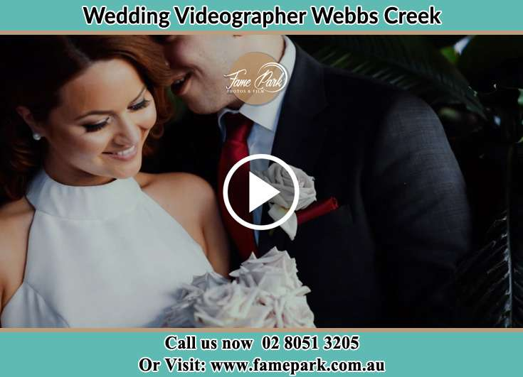 Bride and Groom at the event Webbs Creek NSW 2775