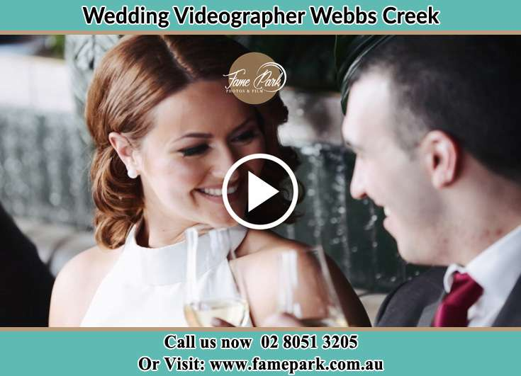 Bride and Groom looking at each other Webbs Creek NSW 2775