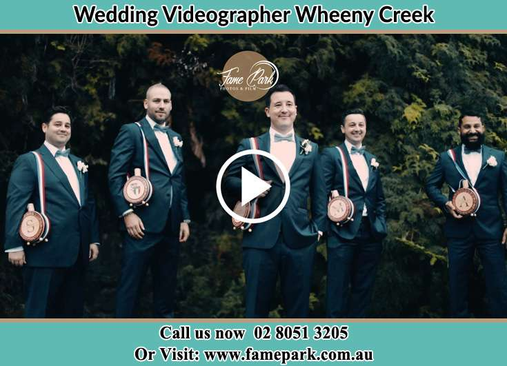 The Groom and his groomsmen Wheeny Creek NSW 2758